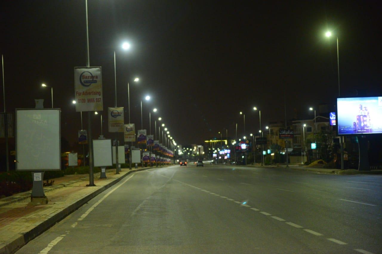 شوارع مصر الجديدة والتجمع خالية (11)