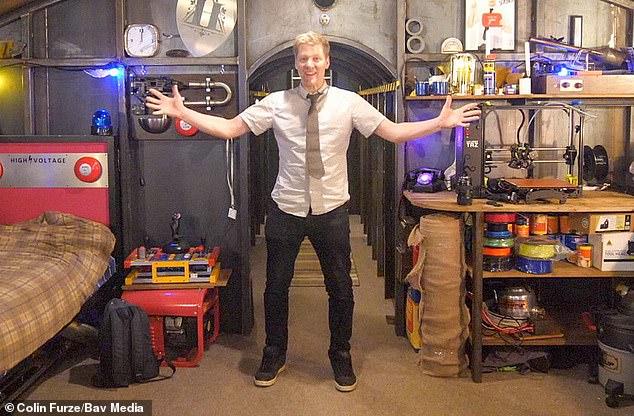 مخترع بريطاني صمم مخبأ تحت الأرض لنهاية العالم منذ 5سنوات (2)