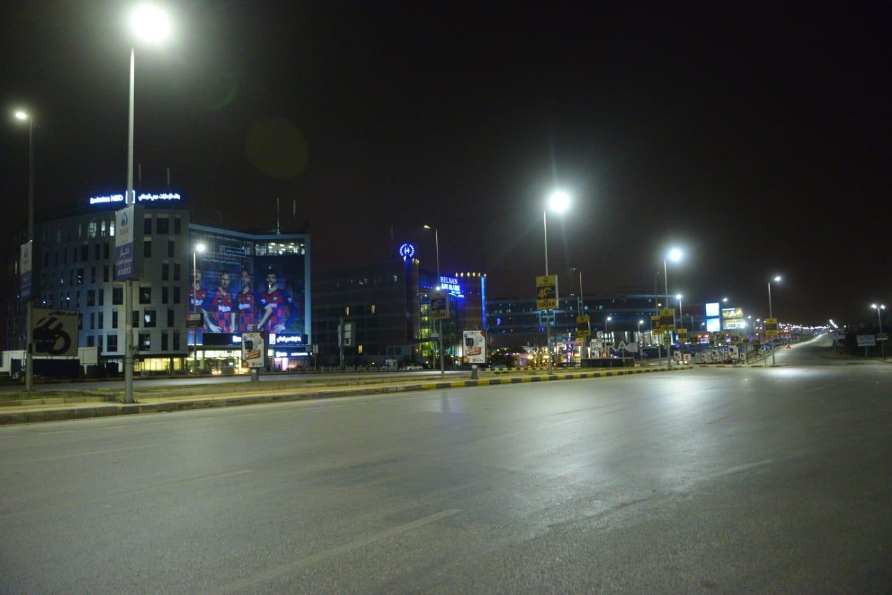 شوارع مصر الجديدة والتجمع خالية (8)