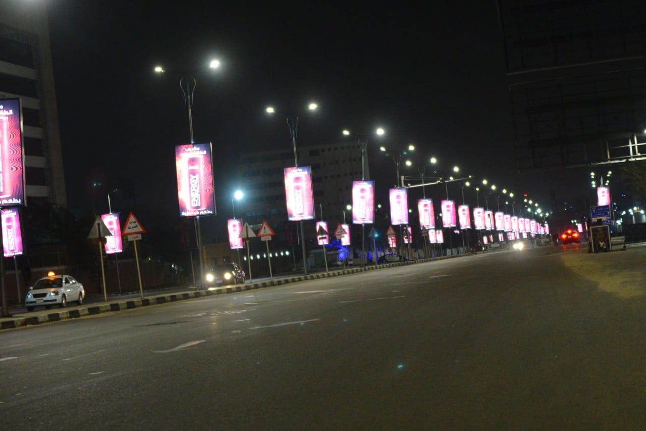شوارع مصر الجديدة والتجمع خالية (13)