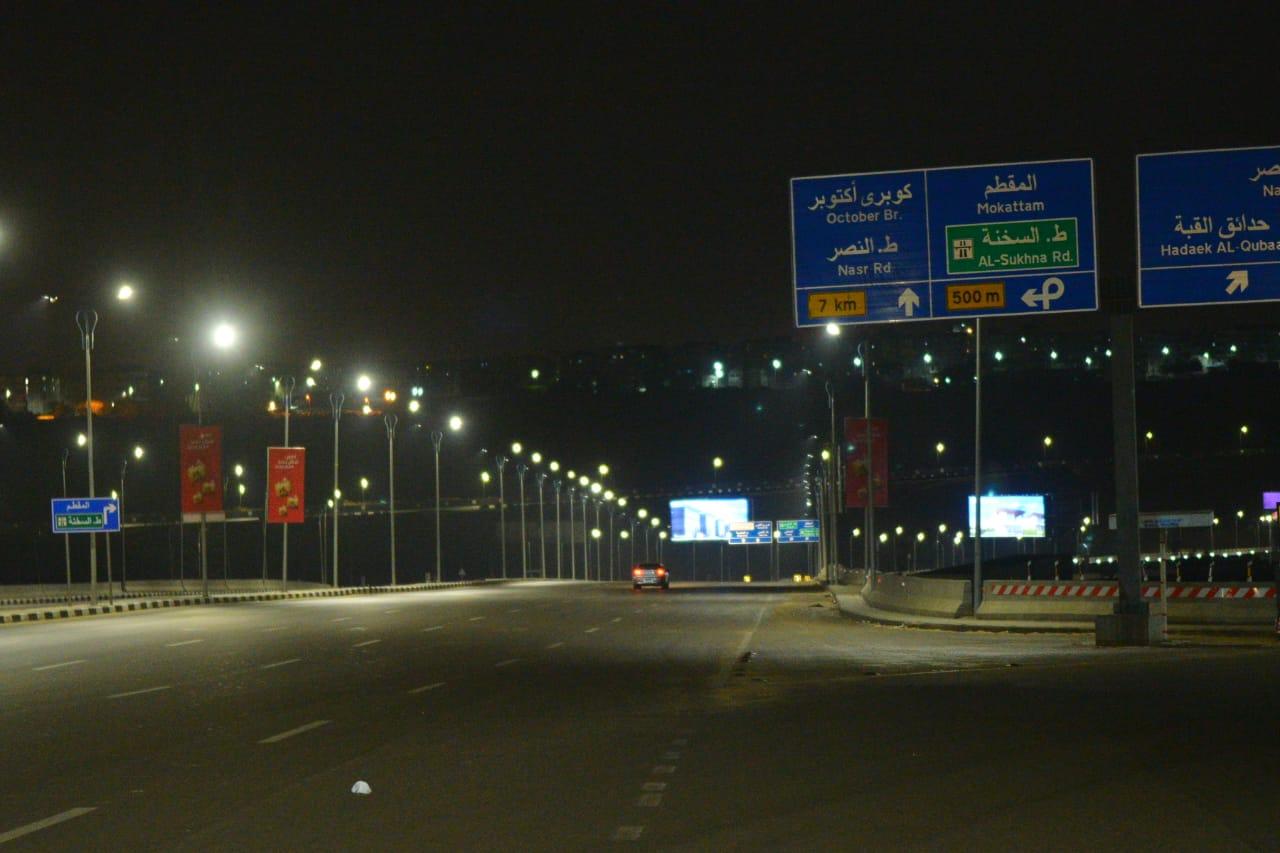 شوارع مصر الجديدة والتجمع خالية (14)