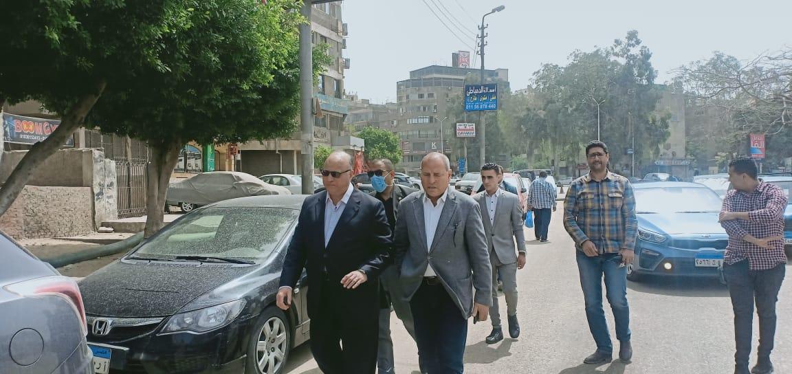 جولة لمحافظ القاهرة لتفقد المحاور المرورية (2)