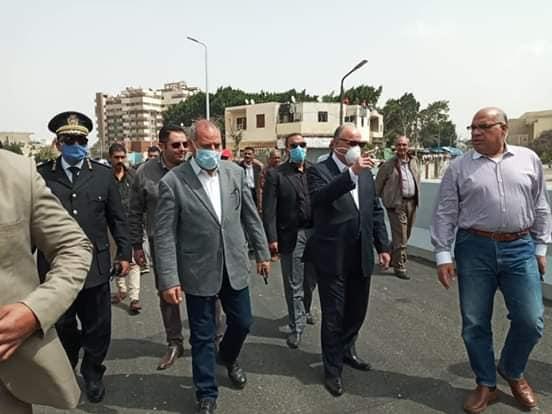جولة لمحافظ القاهرة لتفقد المحاور المرورية (1)