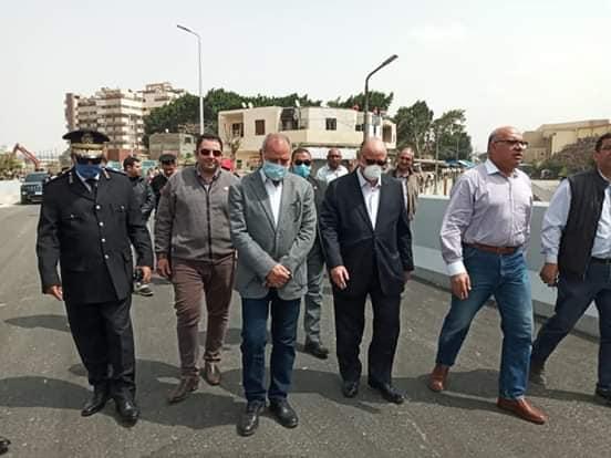 جولة لمحافظ القاهرة لتفقد المحاور المرورية (5)
