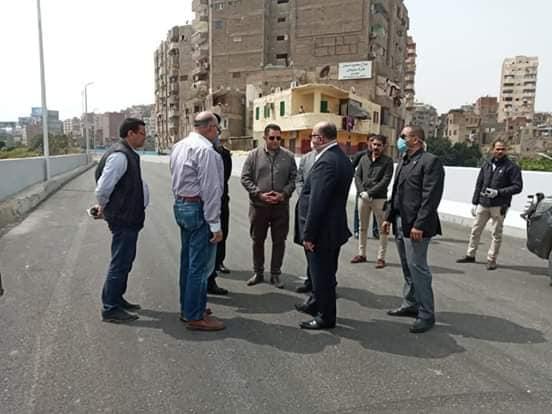 جولة لمحافظ القاهرة لتفقد المحاور المرورية (4)