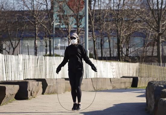 ممارسة الرياضة فى الحدائق