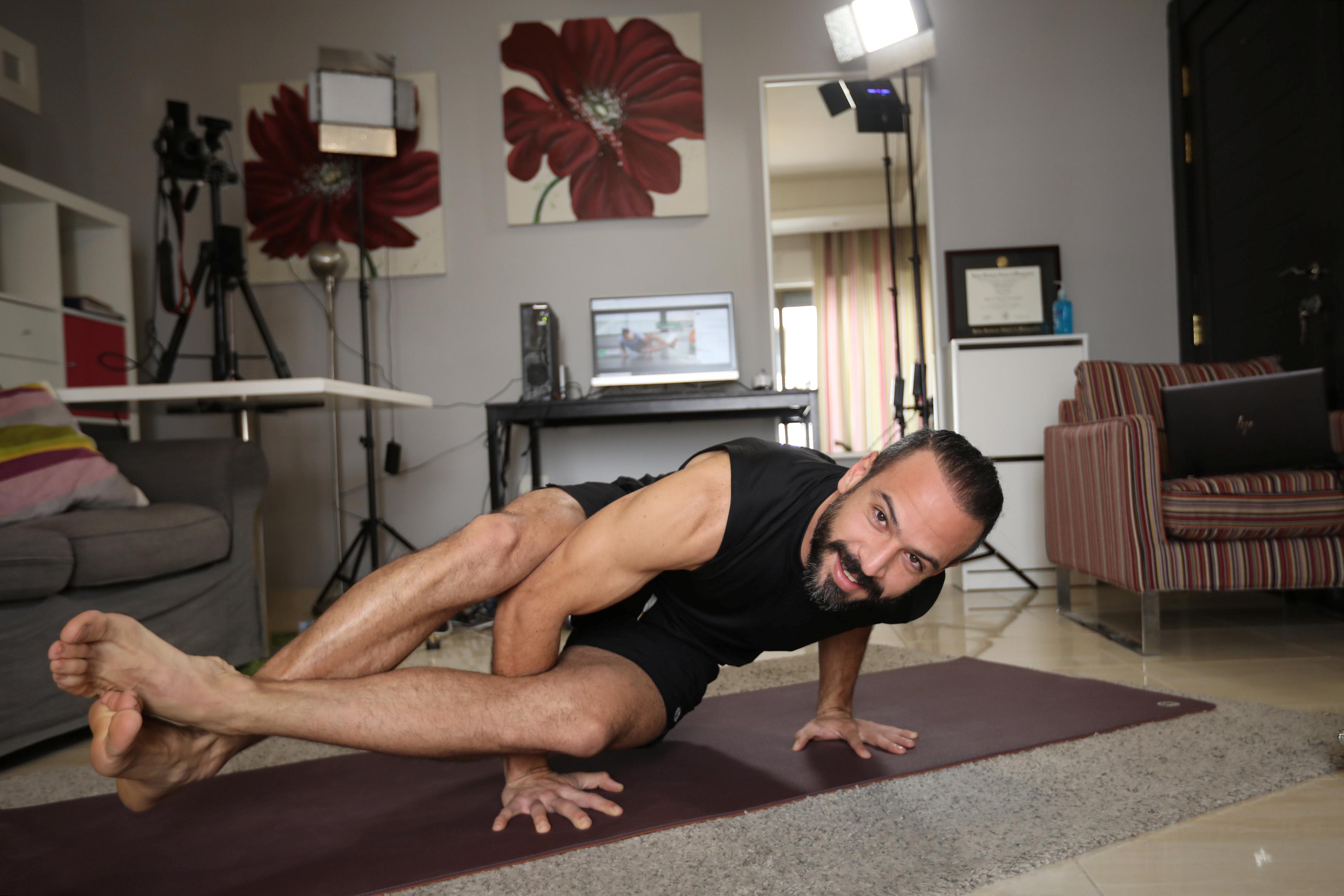 دروس اليوجا واللياقة البدنية أون لاين