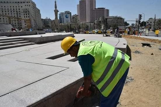 تطوير ميدان التحرير فى المراحل النهائية (1)