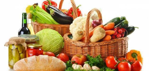 احرص على الفواكه والخضروات