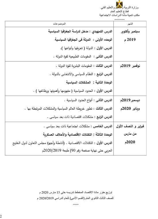 دراسات-الصف-الثالث-الثانوى-2