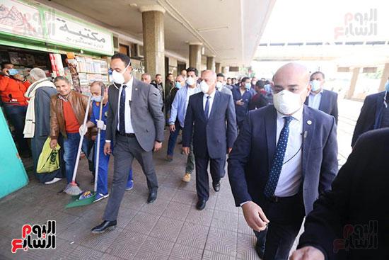 جولة داخل محطة مصر