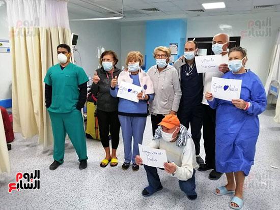 إشادة-إيطالية-بنجاحات-الفريق-الطبى-بمستشفى-الحجر-الصحى-بإسنا--(5)