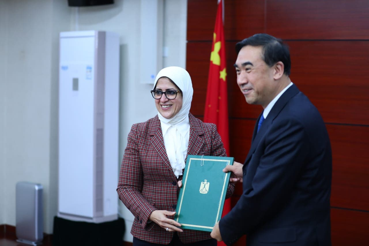 وزير الصحة فى الصين
