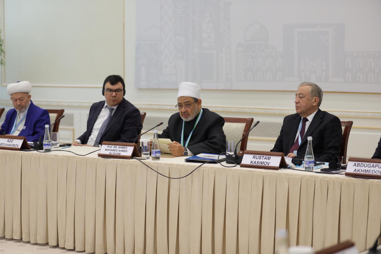 شيخ الأزهر بمؤتمر الماتريدي الدولي في أوزبكستان (2)