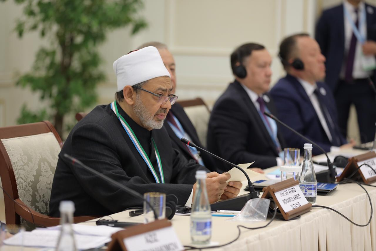 شيخ الأزهر بمؤتمر الماتريدي الدولي في أوزبكستان (6)