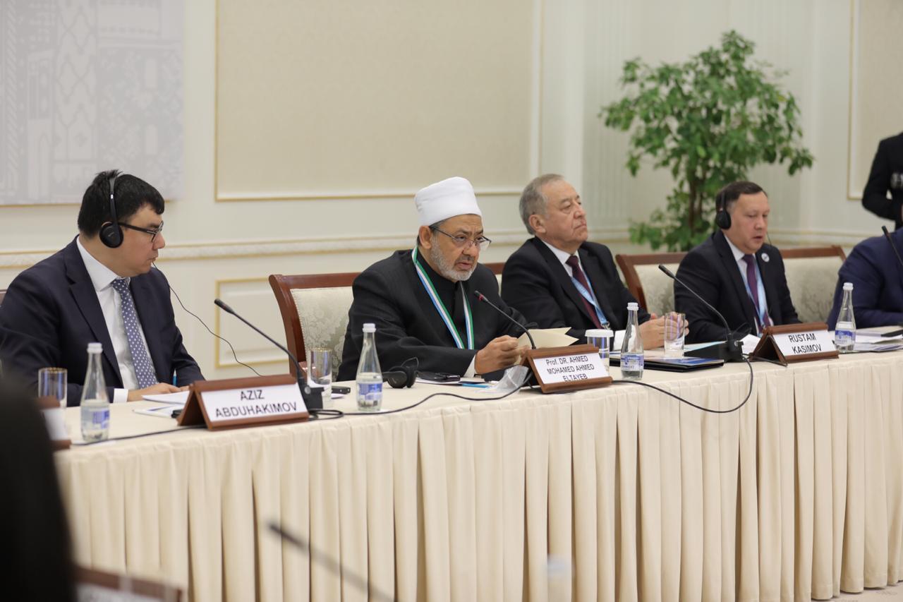 شيخ الأزهر بمؤتمر الماتريدي الدولي في أوزبكستان (4)