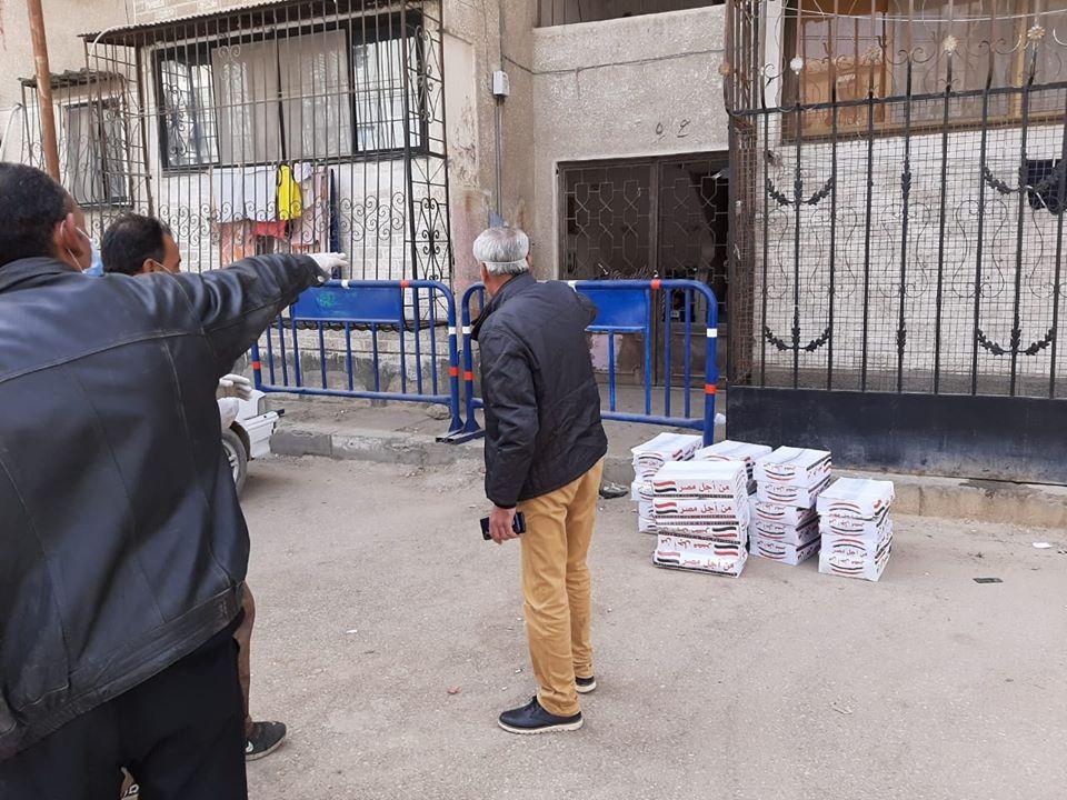 عزل عمارتين بحى الضواحى فى بورسعيد (11)