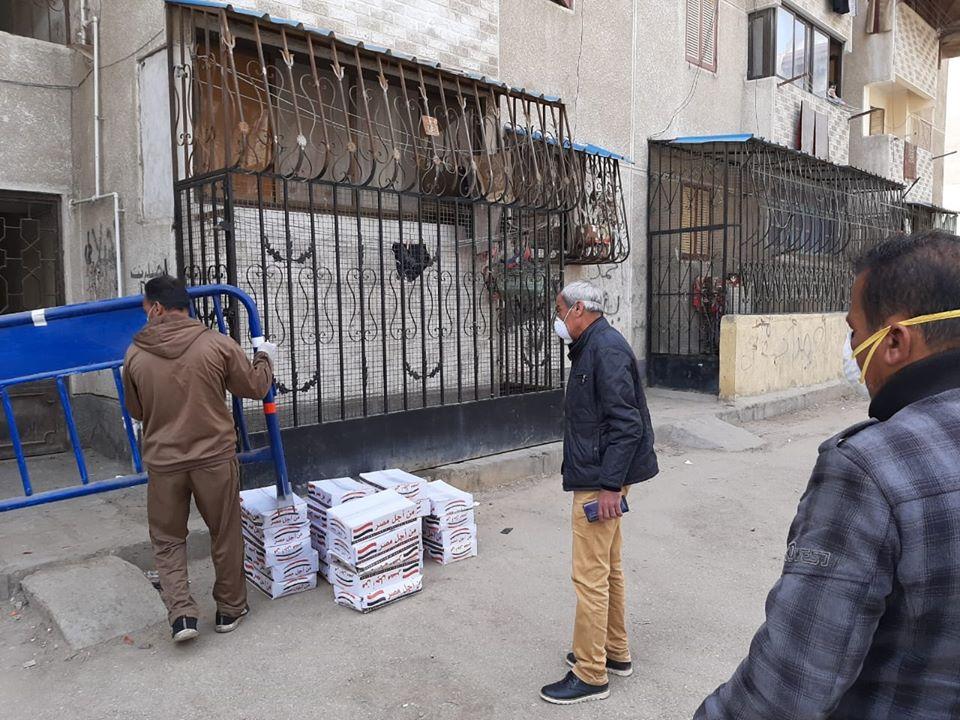 عزل عمارتين بحى الضواحى فى بورسعيد (9)