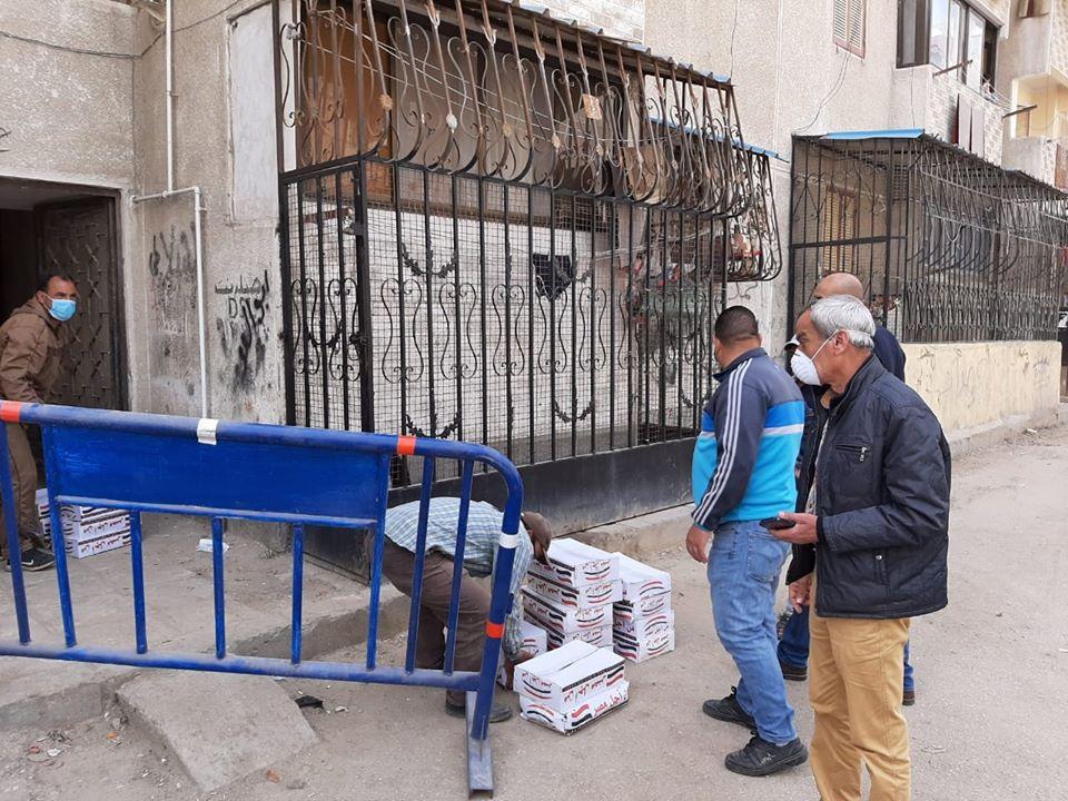 عزل عمارتين بحى الضواحى فى بورسعيد (10)