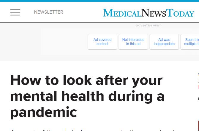 الصحة العقلية والحفاظ عليها