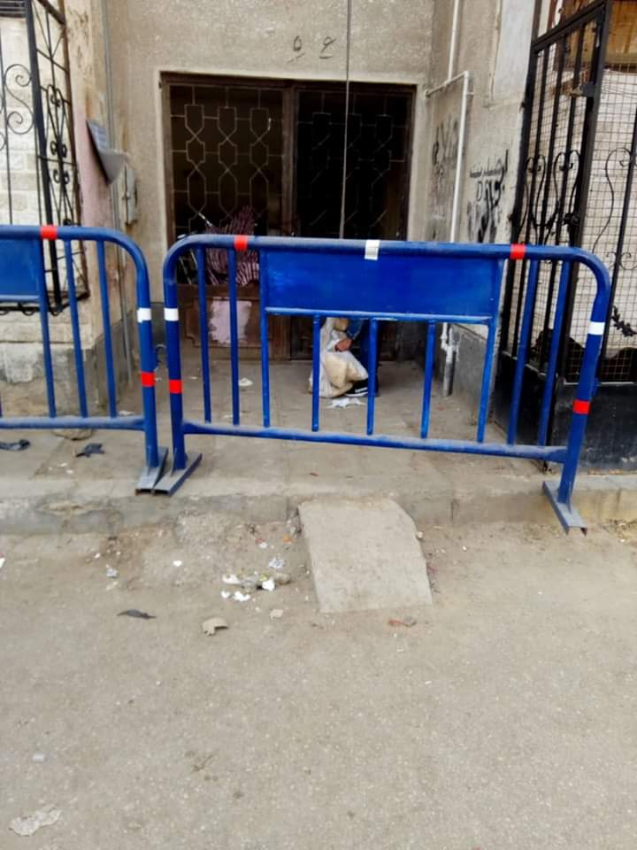 عزل عمارتين بحى الضواحى فى بورسعيد (3)