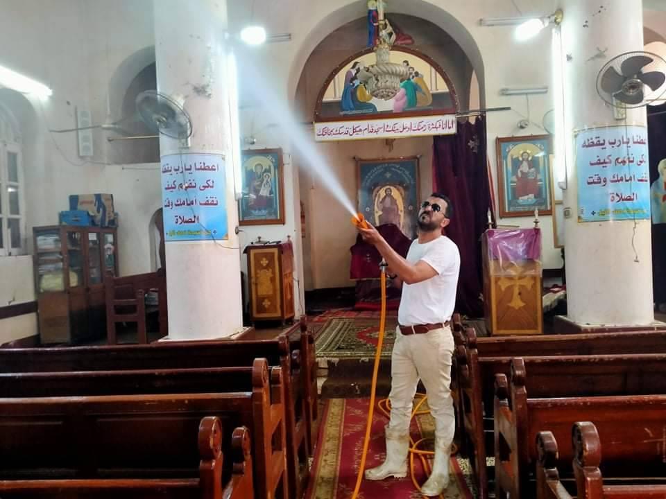 جانب من تطهير الكنيسة