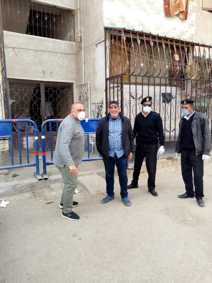 عزل عمارتين بحى الضواحى فى بورسعيد (5)