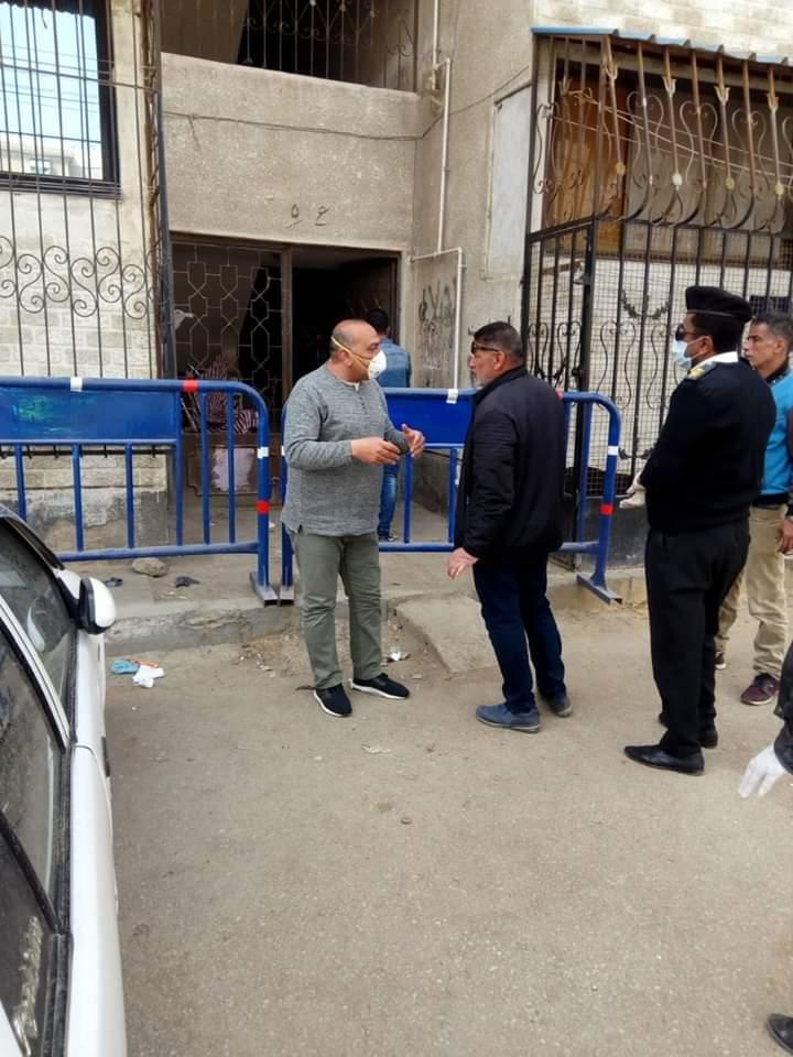 عزل عمارتين بحى الضواحى فى بورسعيد (4)