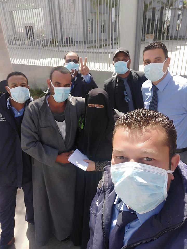 خروج بسمة الميداني 37 سنة من مركز بلقاس في محافظة الدقهلية