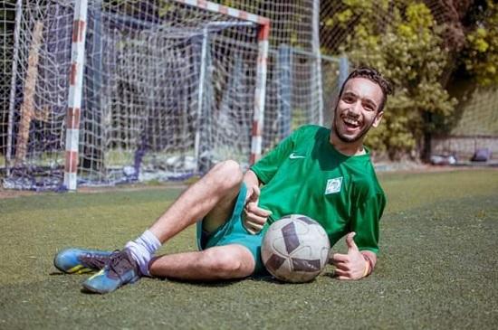 حسن زيزو في الملعب