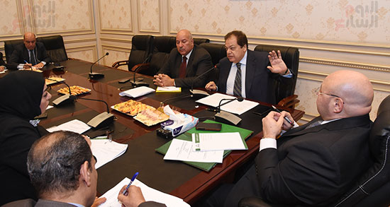 أجتماع لجنة الثقافة والإعلام والآثار  (3)