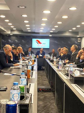 دعم مصر يبدأ جلسته السادسة