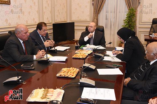 أجتماع لجنة الثقافة والإعلام والآثار  (4)