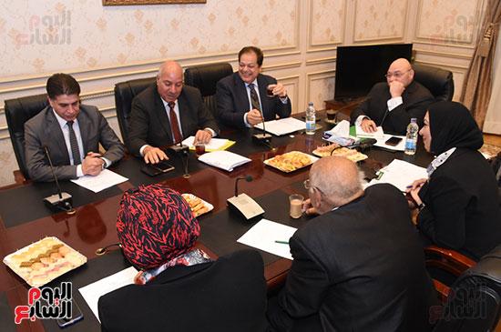 أجتماع لجنة الثقافة والإعلام والآثار  (7)