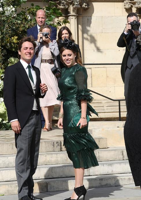 الأميرة بياتريس وخطيبها ادوارد موزلى