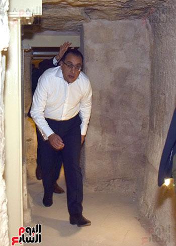 رئيس الوزراء داخل هرم زوسر