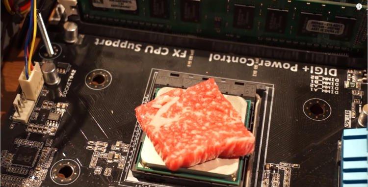 قطعة لحم