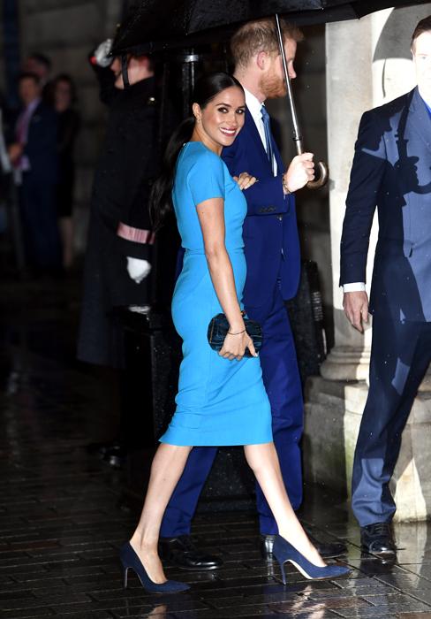 الأمير هارى وزوجته ميجان ماركل فى لندن
