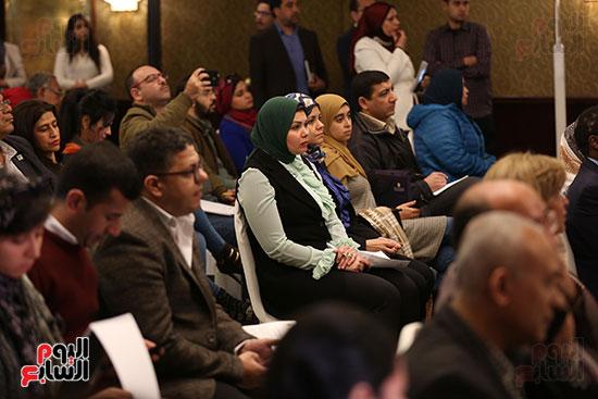 مؤتمر وزير التعليم العالى لإعلان استراتيجية المنتدى العالمى للتعليم (10)