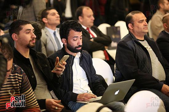 مؤتمر وزير التعليم العالى لإعلان استراتيجية المنتدى العالمى للتعليم (4)