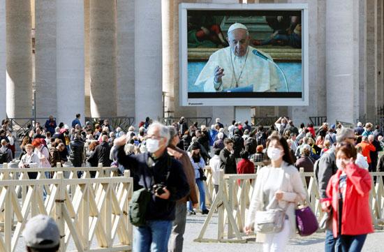 البابا-فرنسيس-يقيم-صلاة-خاصة-بسبب-كورونا