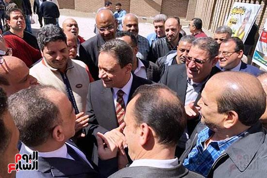 كرم جبر رئيس الهيئة الوطنية للصحافة والكاتب أحمد أيوب (4)