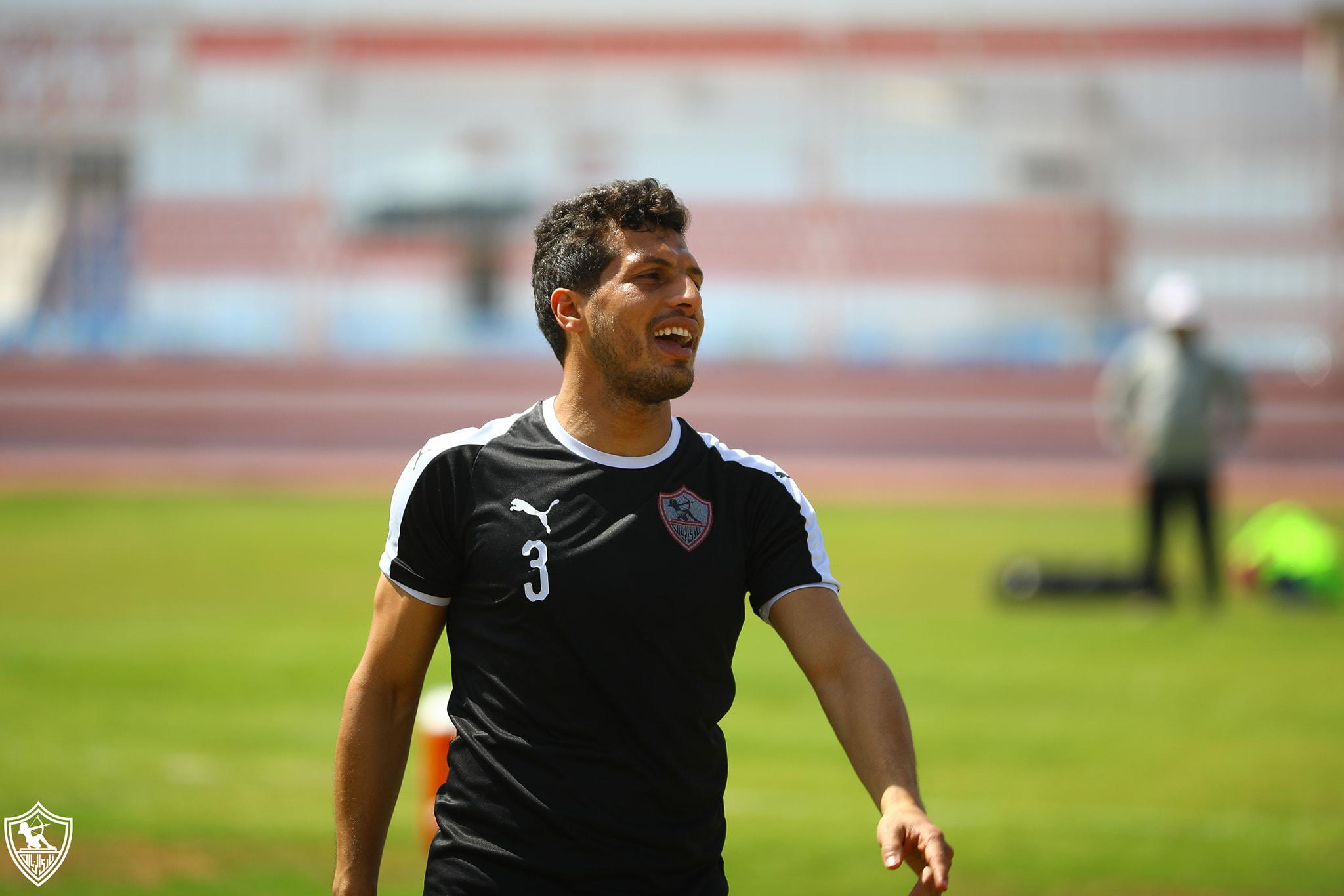 طارق حامد لاعب وسط الزمالك
