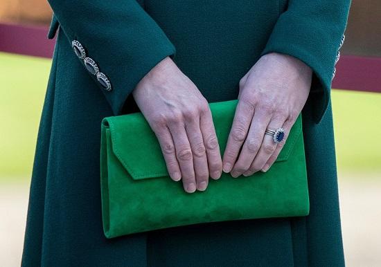 أظافر كيت ميدلتون فى جولتها بأيرلندا