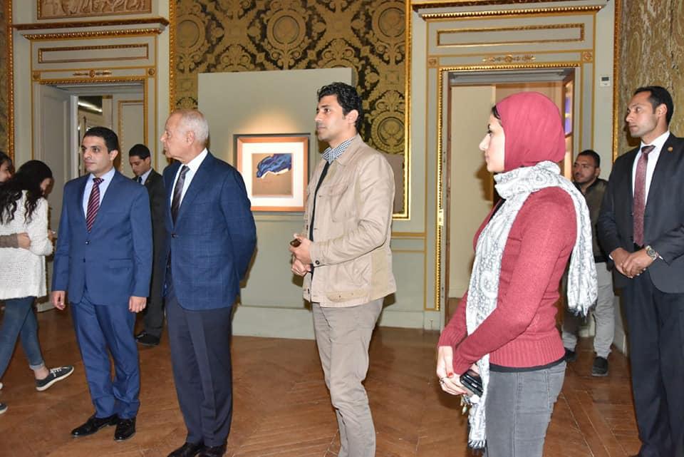 السيد أحمد أبو الغيط يزور معرض فاروق حسنى (9)