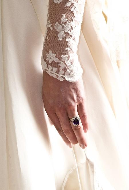 أظافر كيت ميدلتون وقت الزفاف