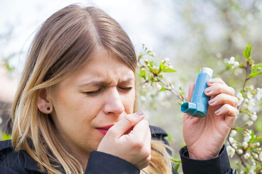 اعراض حساسية الربيع 1