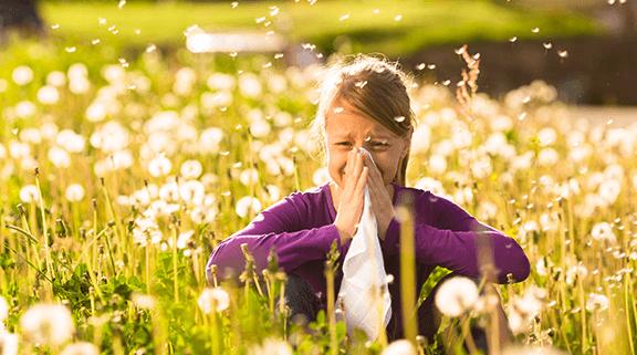 اعراض حساسية الربيع 2