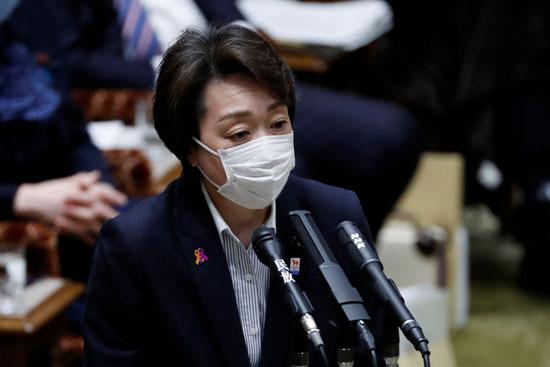 وزيرة الأولمبياد اليابانية سيكو هاشيموتو