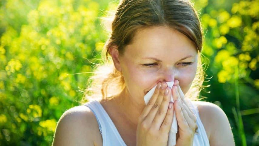 اعراض حساسية الربيع